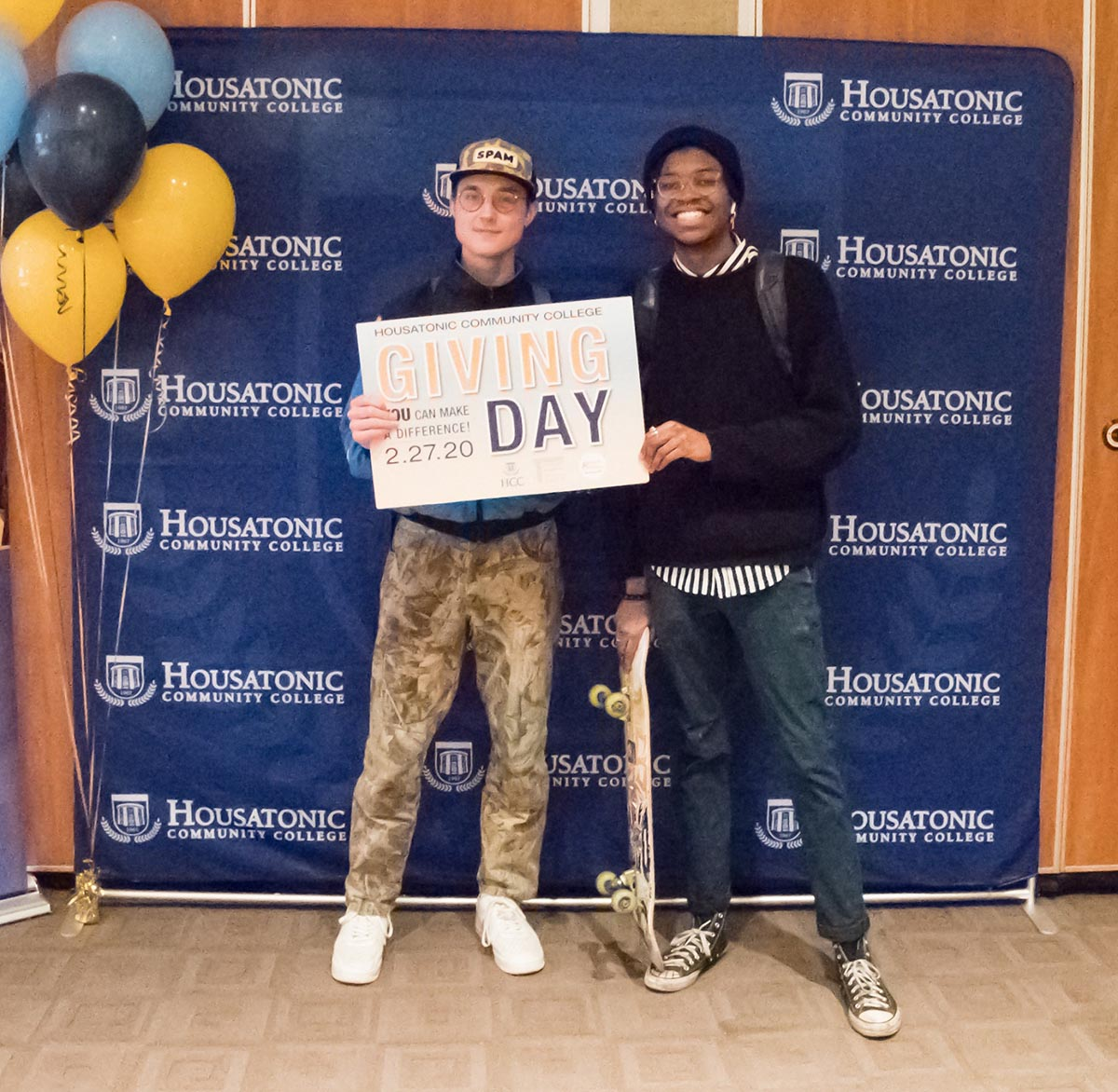 Housatonic Community College students, faculty and donors united to raise over $30,000 in 24-hours for the school's Foundation on Giving Day.