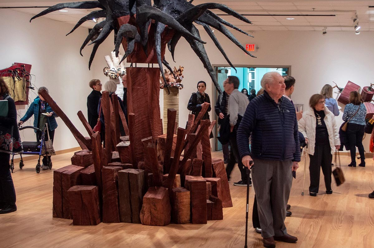Since its founding in 1967 by the late Burt Chernow, HMA has welcomed more than 500,000 visitors to explore its exhibits and collection of almost 6,000 works that span the history of art.