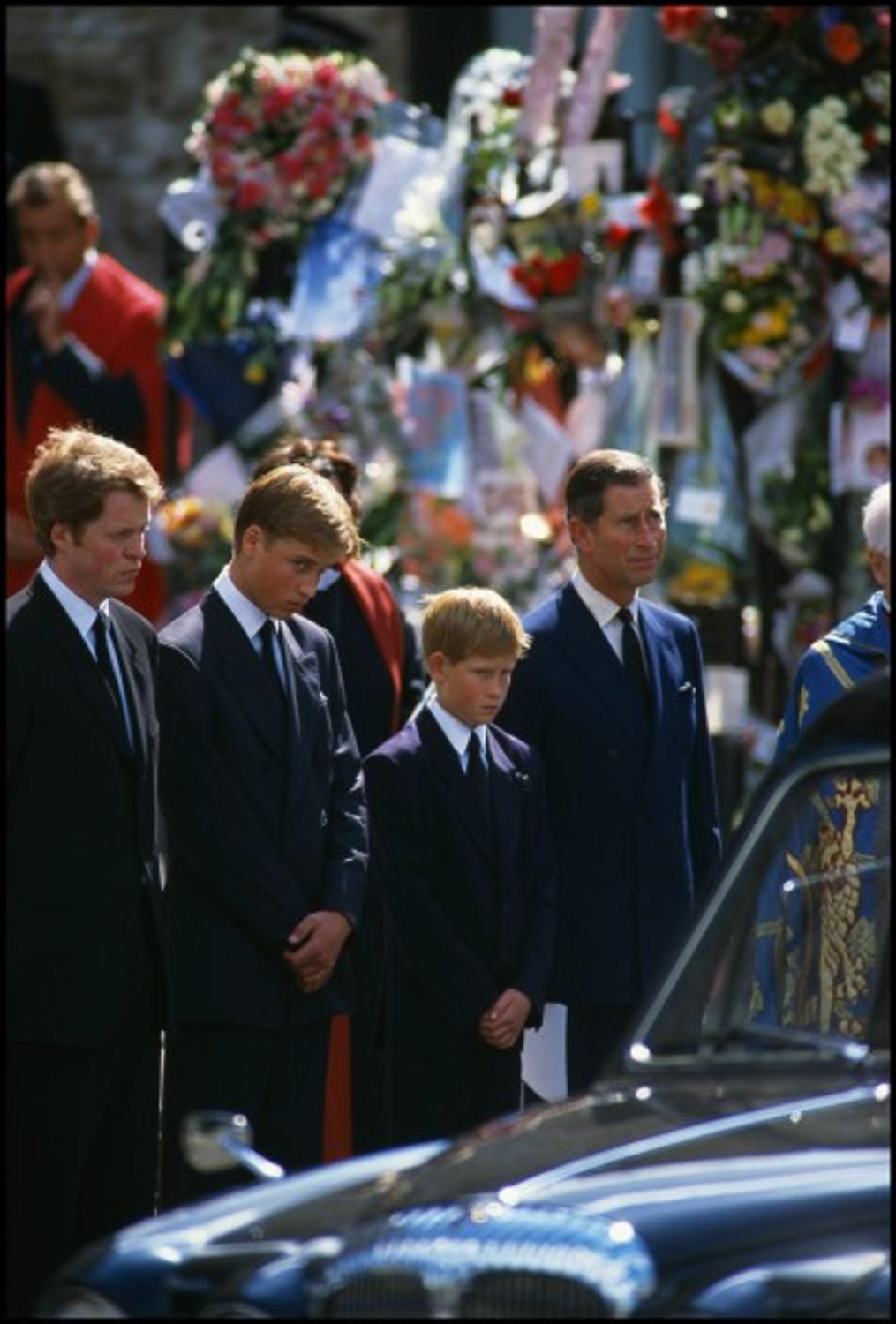 Funeral of Princess Diana, London, 1997, by Peter Turnley
