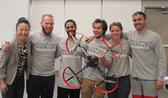 The First Annual Community College Quadcopter Challenge
