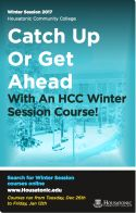 Registration Begins for Winter Courses