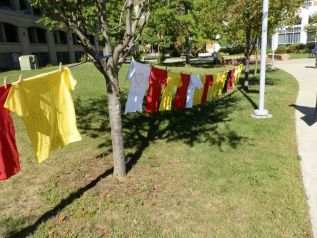 Housatonic Community College Clothesline Project Creates Awareness of Interpersonal Violence
