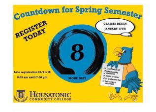 Registration for Spring 2018 Classes Continues at HCC