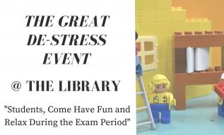 The Great De-Stress Event @ The HCC Library