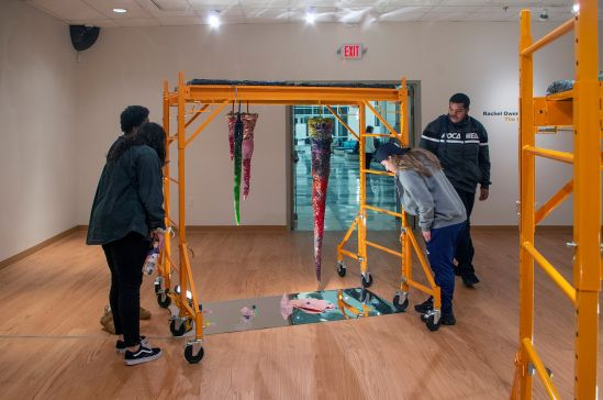 Local History Exhibit Cast In Colorful Glass Sculptures Opens At HMA
