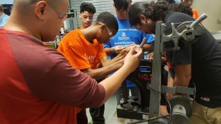 Housatonic Community College Partners With Bridgeport Public Schools To Provide Middle School Boys With Summer Enrichment Program
