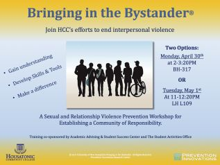 Bringing in the Bystander comes to HCC