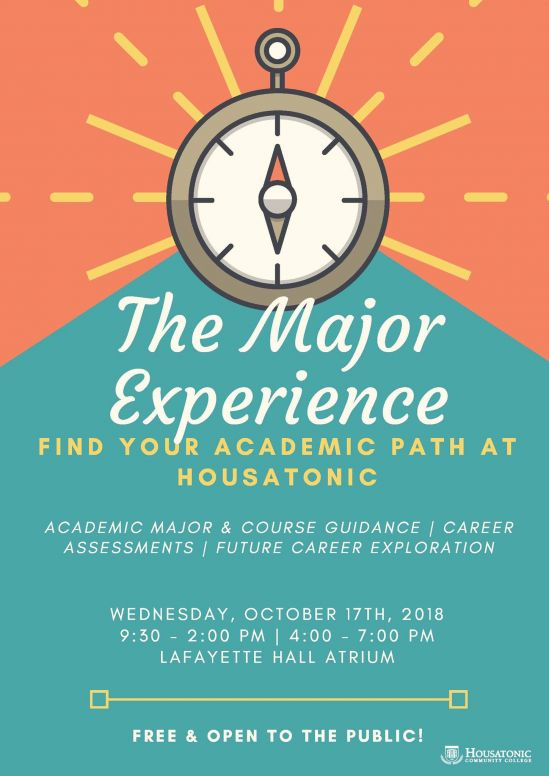 The Major Experience coming to HCC