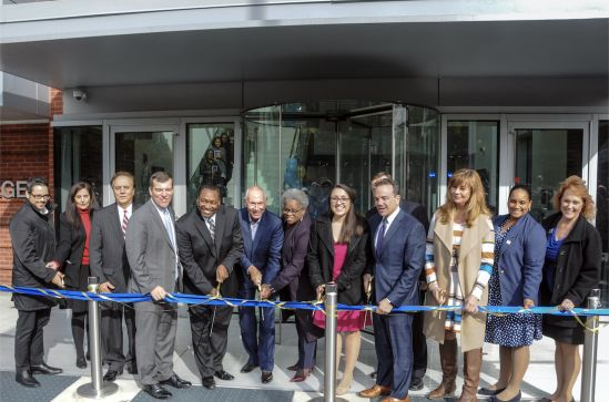 HCC Celebrates Lafayette Hall Ribbon Cutting