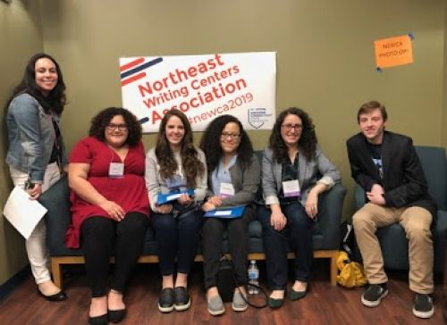 HCC Writing Tutors Recognized at Northeast Writing Centers Association Conference