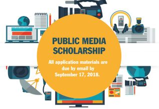 Donofrio Public Media Scholarship available