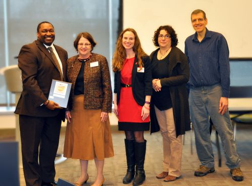 HCC President Broadie Receives Fit-Friendly Award