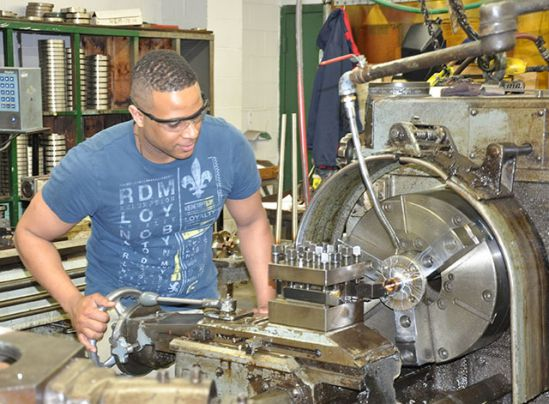 HCC Manufacturing Program Opens Doors For Bridgeport's Chris Frank